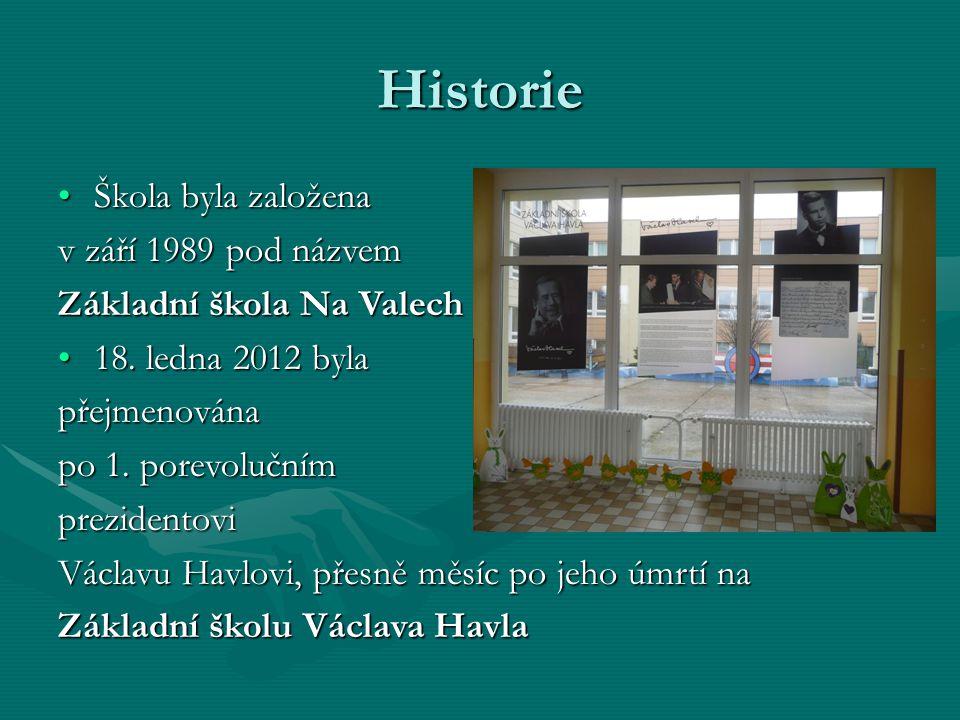 Historie Škola byla založena v září 1989 pod názvem