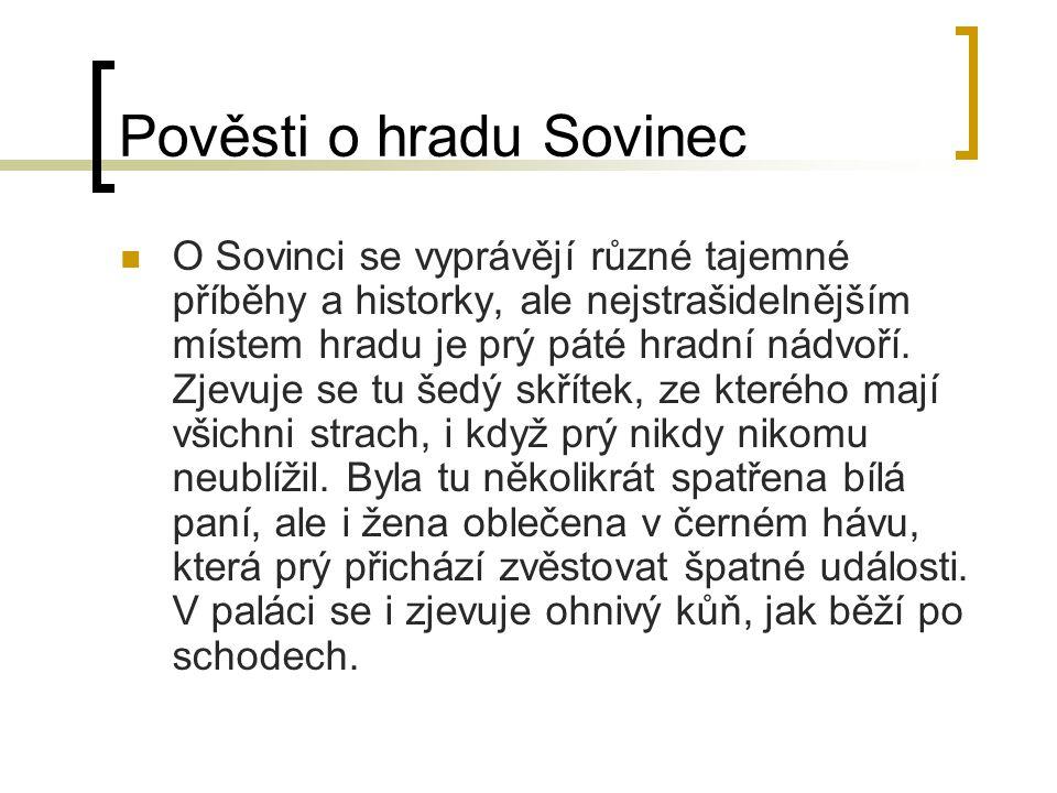 Pověsti o hradu Sovinec