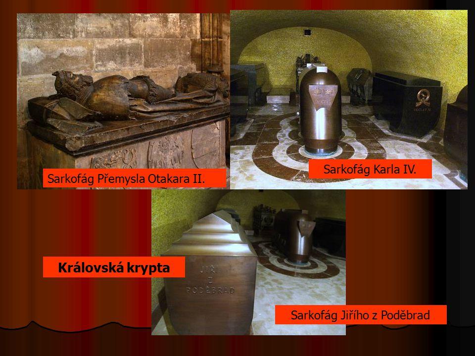 Sarkofág Jiřího z Poděbrad