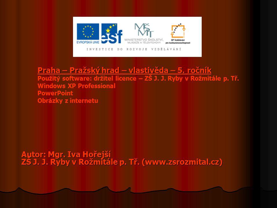 Praha – Pražský hrad – vlastivěda – 5