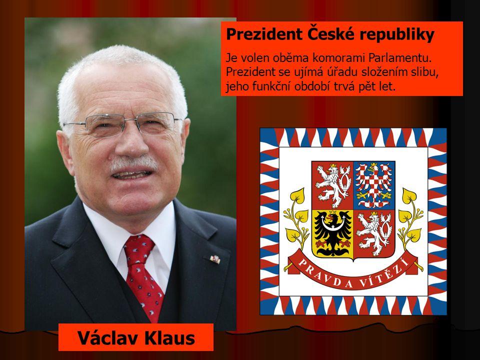 Václav Klaus Prezident České republiky