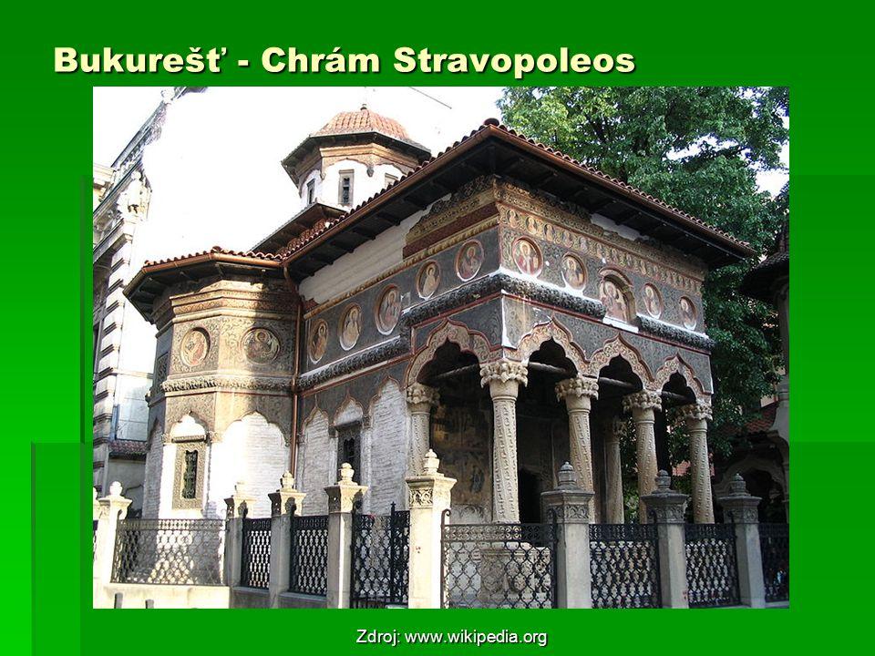 Bukurešť - Chrám Stravopoleos