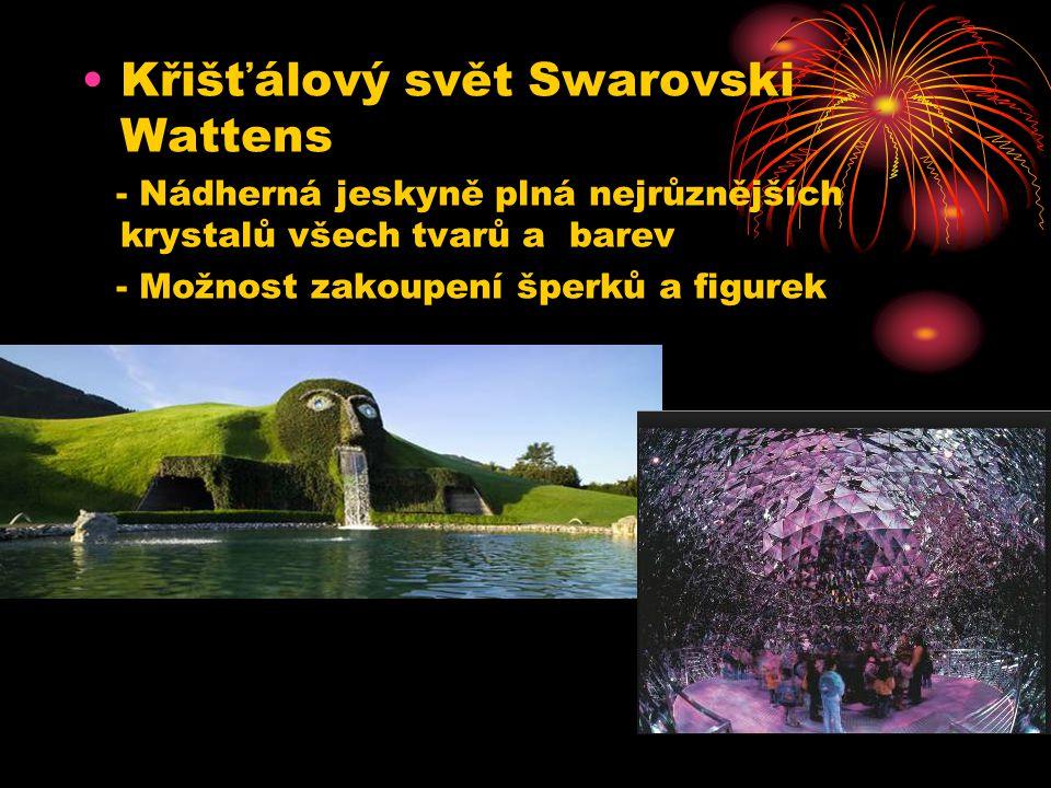 Křišťálový svět Swarovski Wattens
