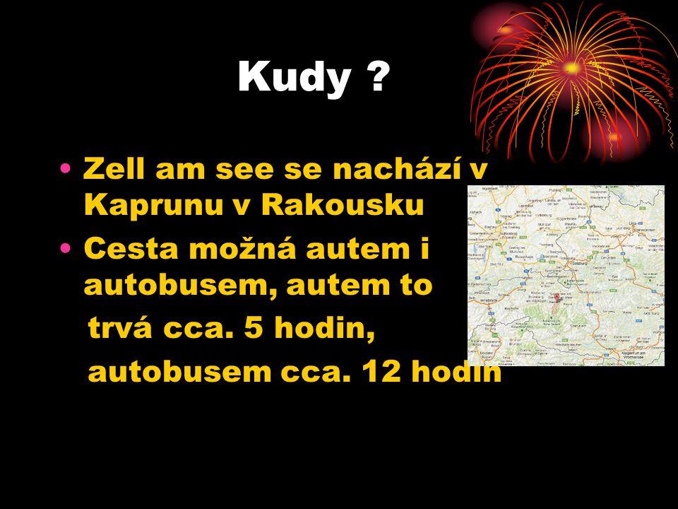 Kudy Zell am see se nachází v Kaprunu v Rakousku