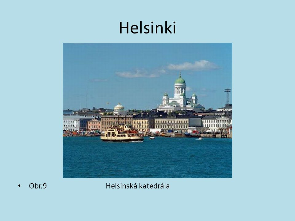 Helsinki Obr.9 Helsinská katedrála