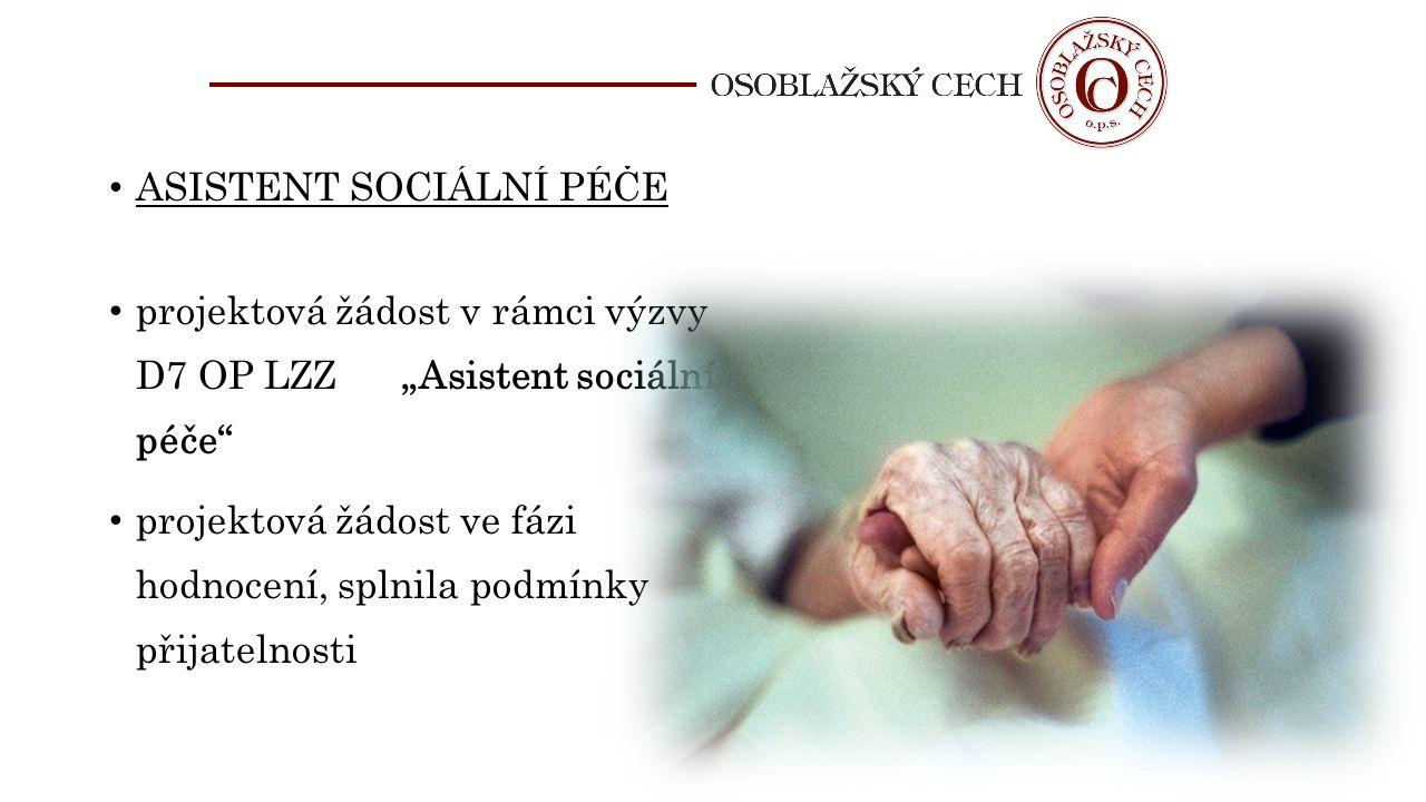 ASISTENT SOCIÁLNÍ PÉČE