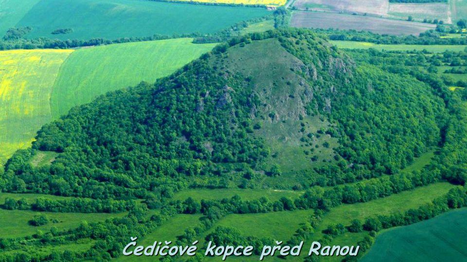 Čedičové kopce před Ranou