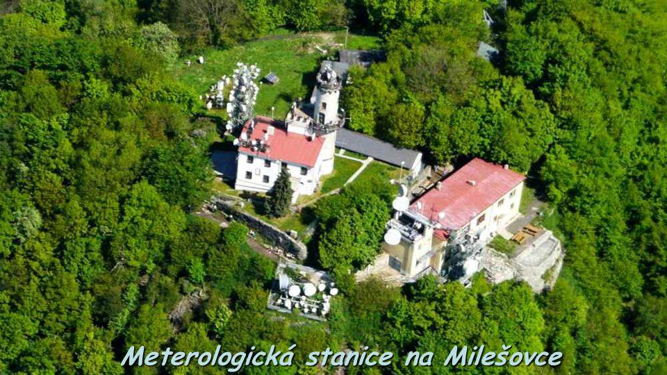 Meterologická stanice na Milešovce