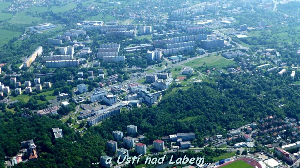 … a Ústí nad Labem…