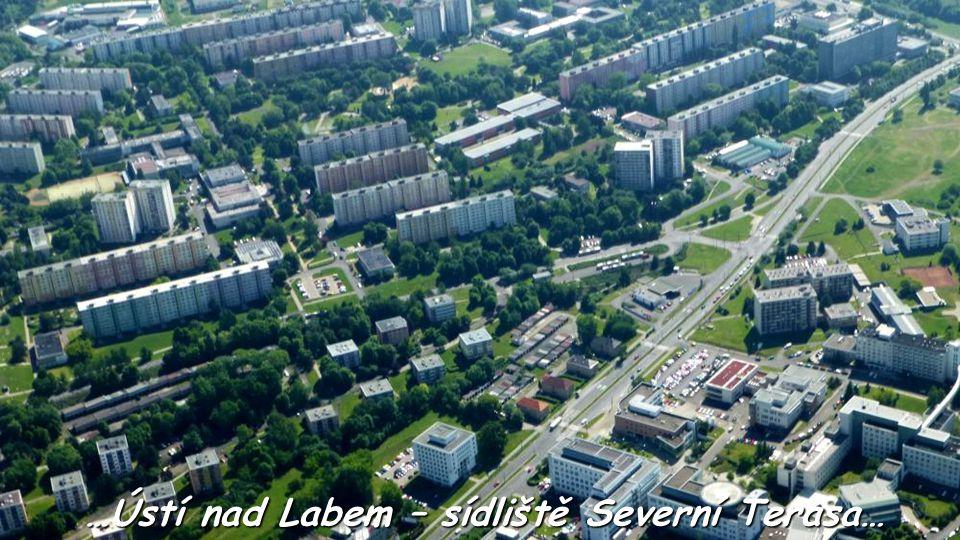 …Ústí nad Labem – sídliště Severní Terasa…
