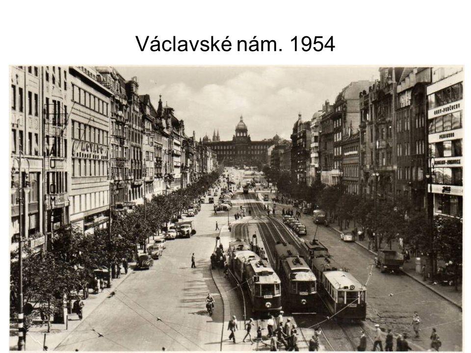 Václavské nám. 1954
