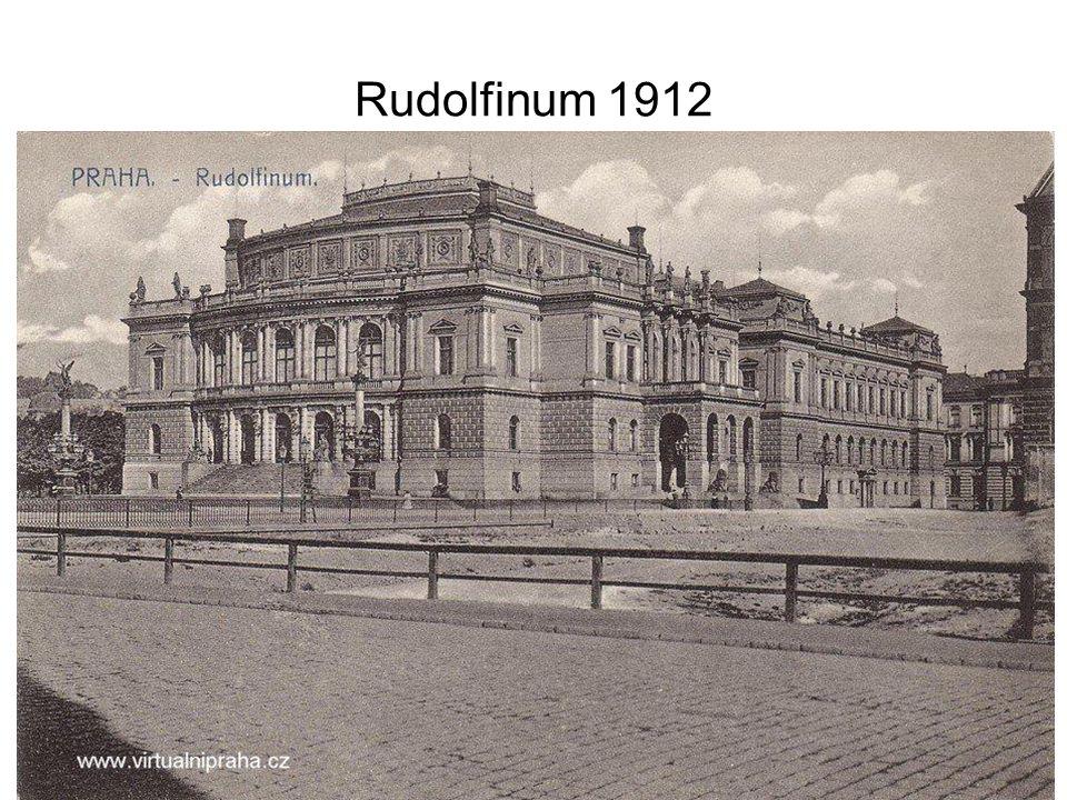 Rudolfinum 1912