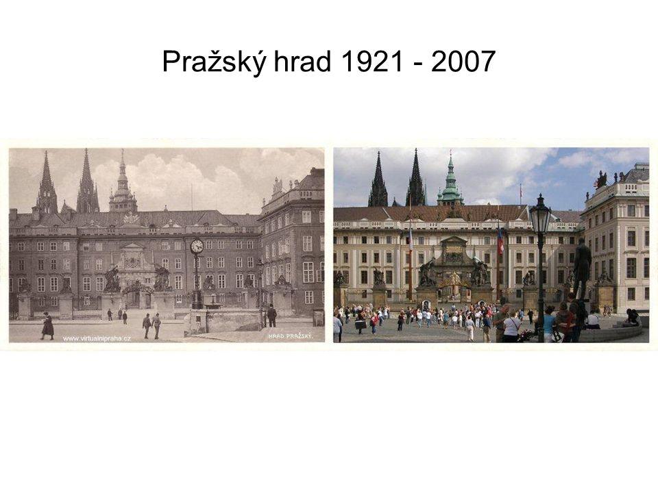 Pražský hrad 1921 - 2007