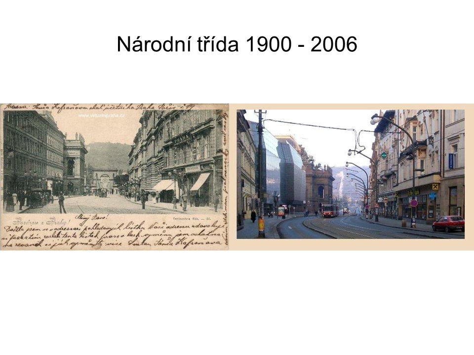 Národní třída 1900 - 2006