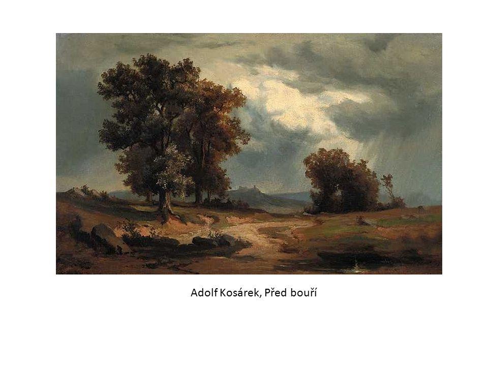 Adolf Kosárek, Před bouří