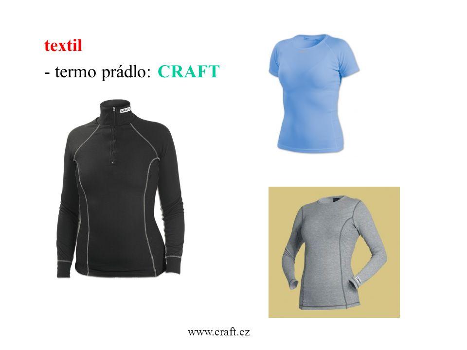 textil - termo prádlo: CRAFT