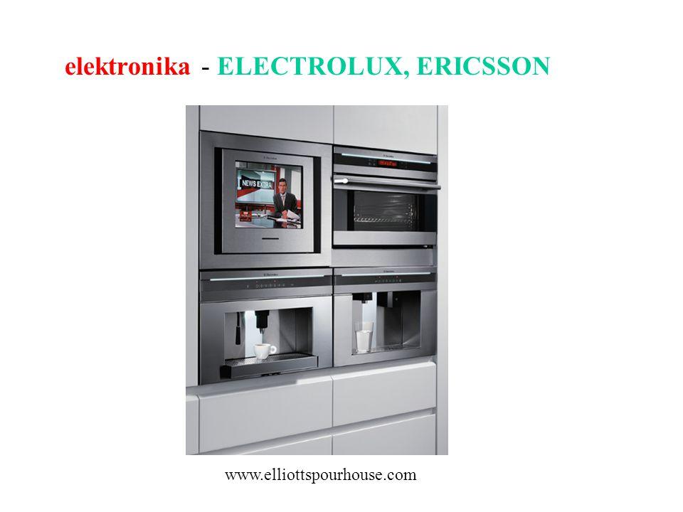 elektronika - ELECTROLUX, ERICSSON