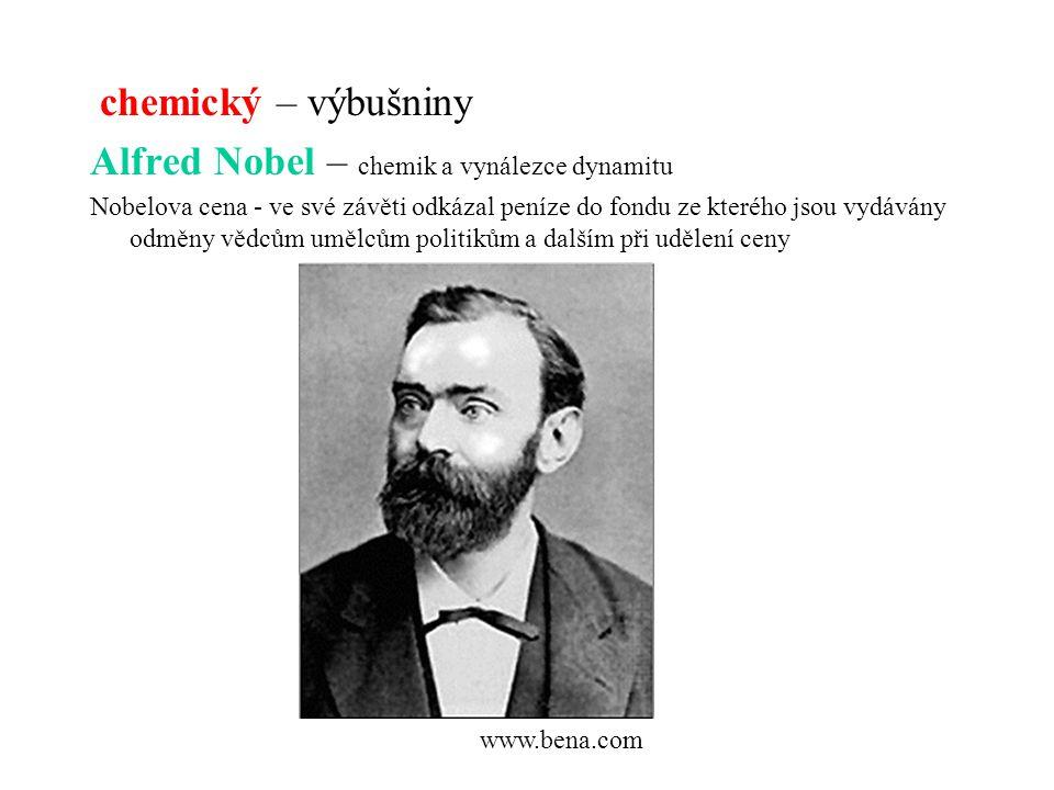 Alfred Nobel – chemik a vynálezce dynamitu