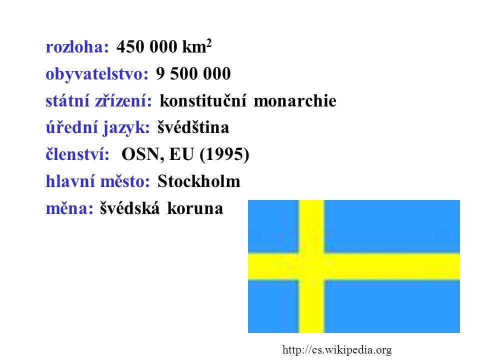 státní zřízení: konstituční monarchie úřední jazyk: švédština