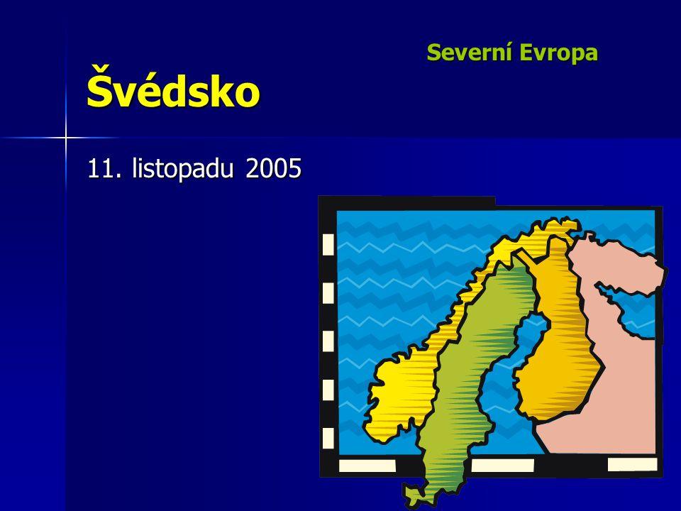 Severní Evropa Švédsko