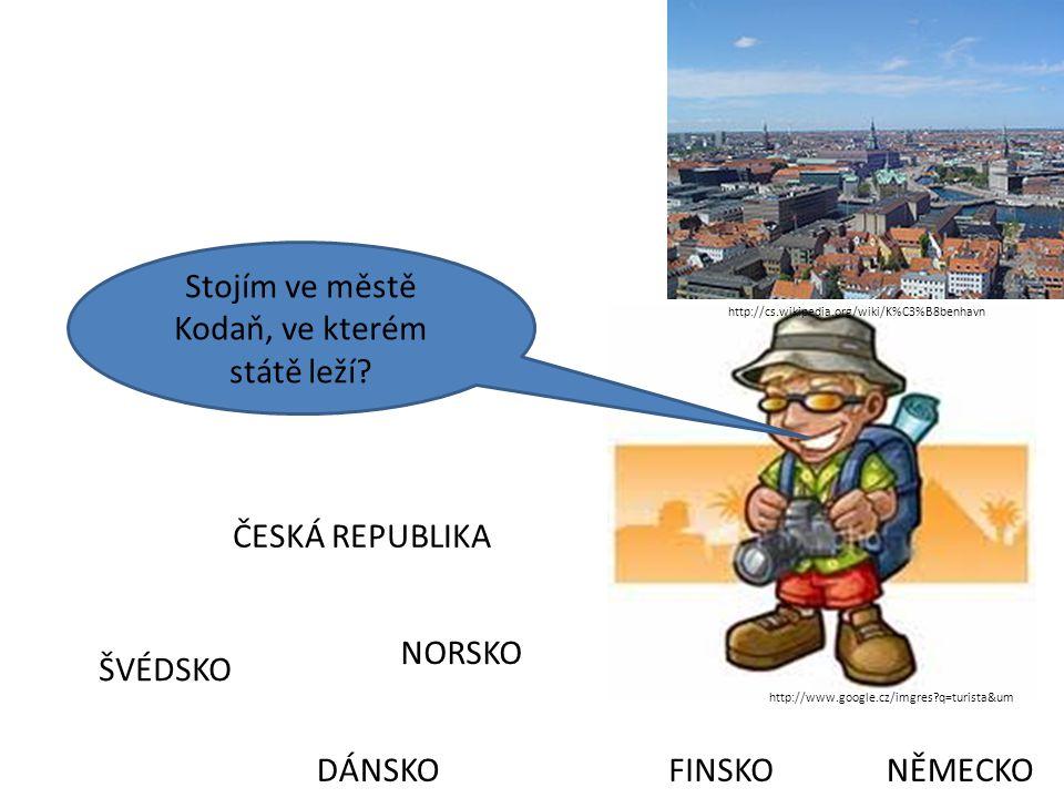 Stojím ve městě Kodaň, ve kterém státě leží
