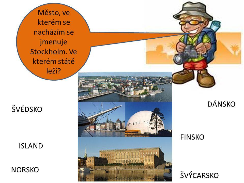 Město, ve kterém se nacházím se jmenuje Stockholm. Ve kterém státě leží