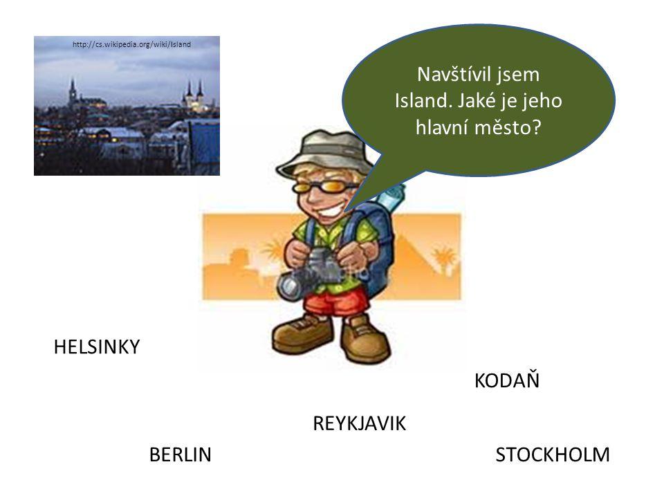 Navštívil jsem Island. Jaké je jeho hlavní město