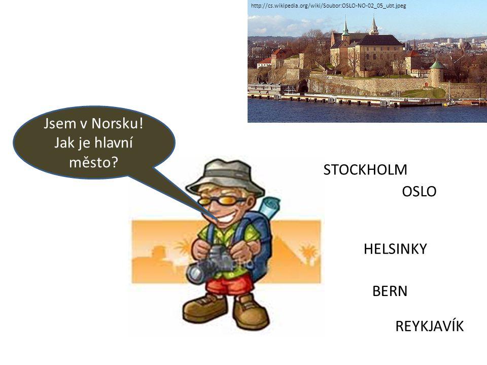Jsem v Norsku! Jak je hlavní město