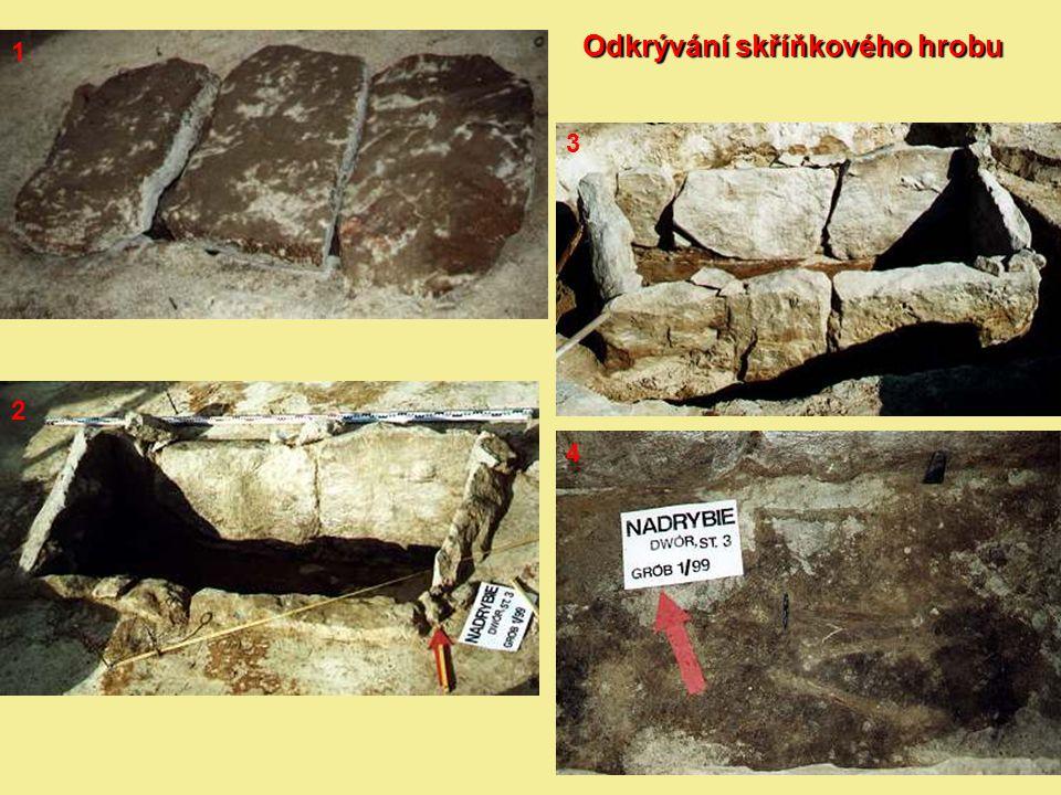 Odkrývání skříňkového hrobu