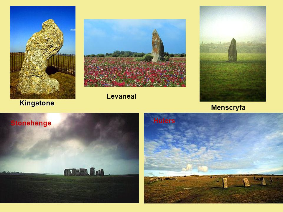 Levaneal Kingstone Menscryfa Hulers Stonehenge