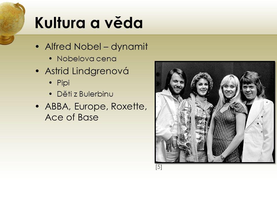 Kultura a věda Alfred Nobel – dynamit Astrid Lindgrenová
