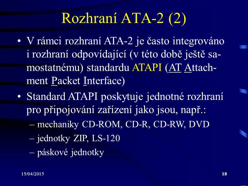 Rozhraní ATA-2 (2)