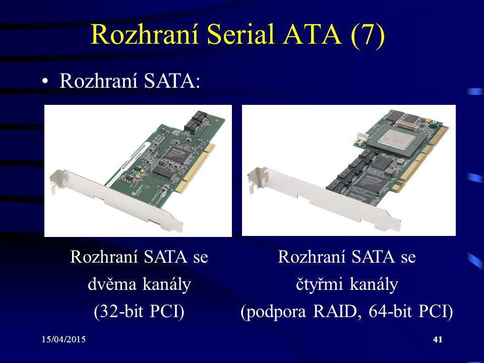(podpora RAID, 64-bit PCI)