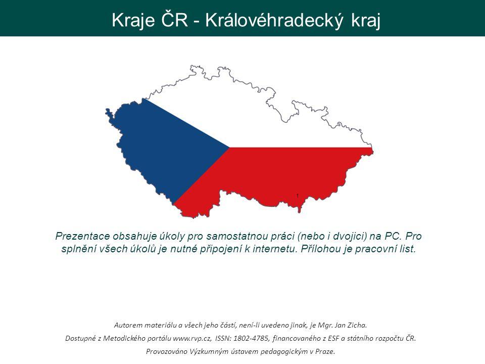 Kraje ČR - Královéhradecký kraj