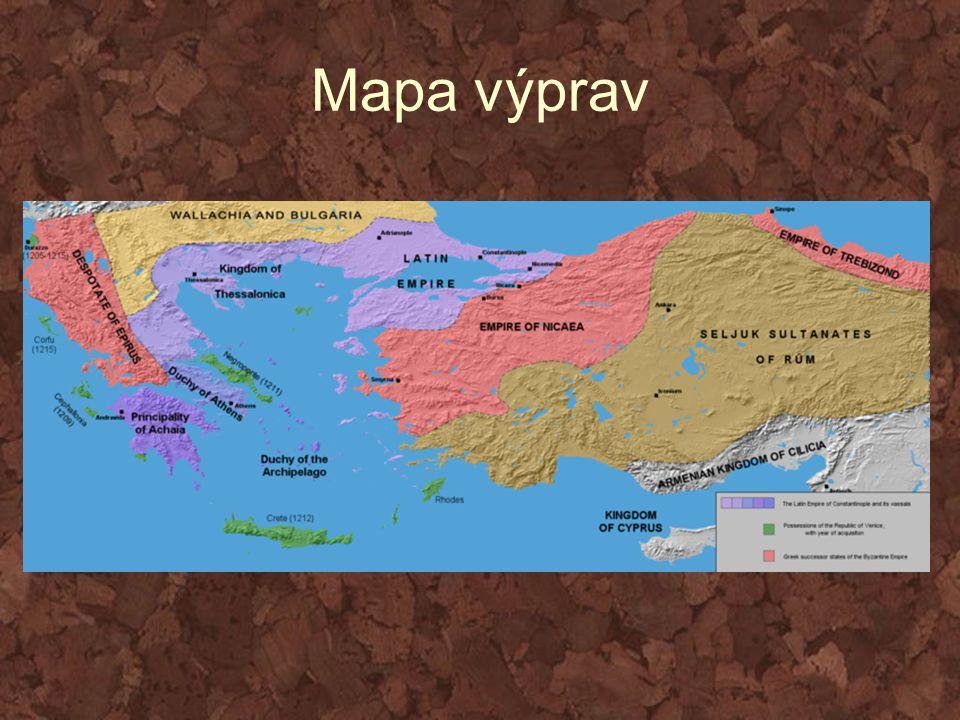 Mapa výprav