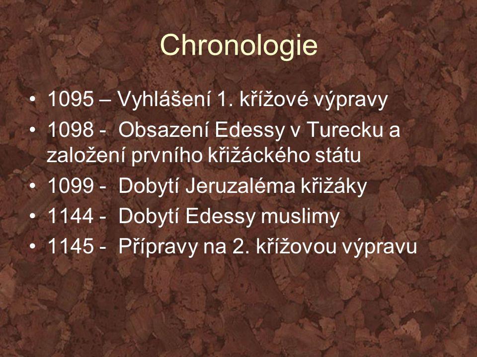 Chronologie 1095 – Vyhlášení 1. křížové výpravy