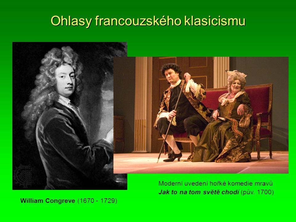 Ohlasy francouzského klasicismu
