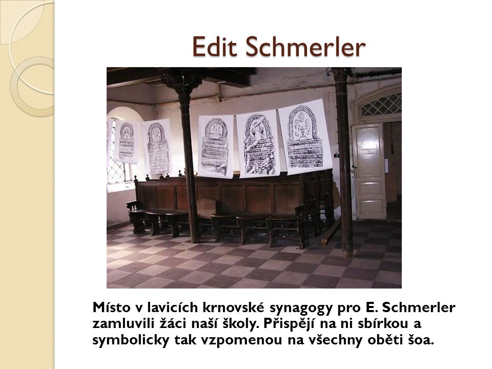 Edit Schmerler