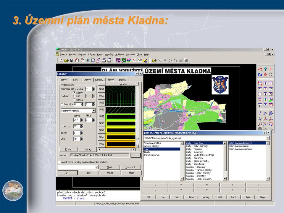 3. Územní plán města Kladna: