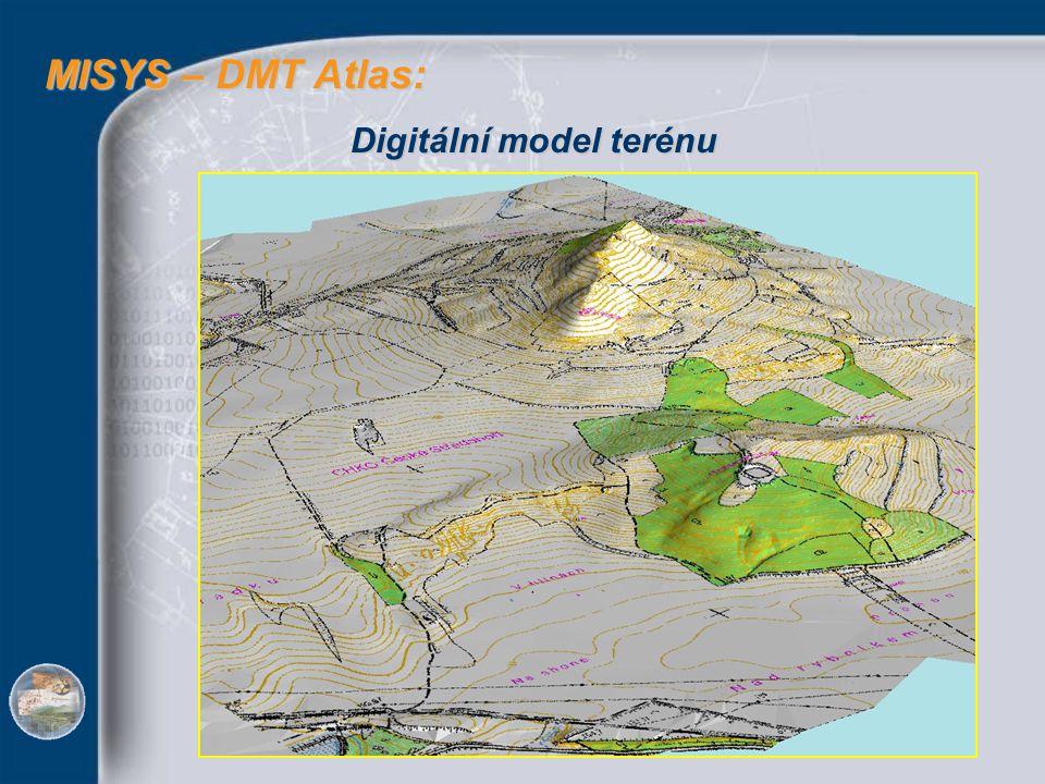 MISYS – DMT Atlas: Digitální model terénu