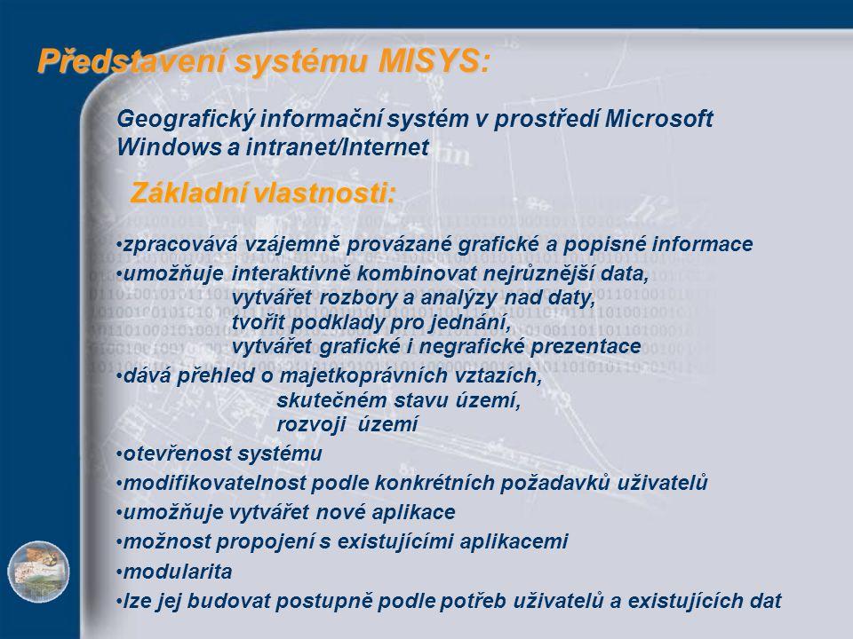 Představení systému MISYS: