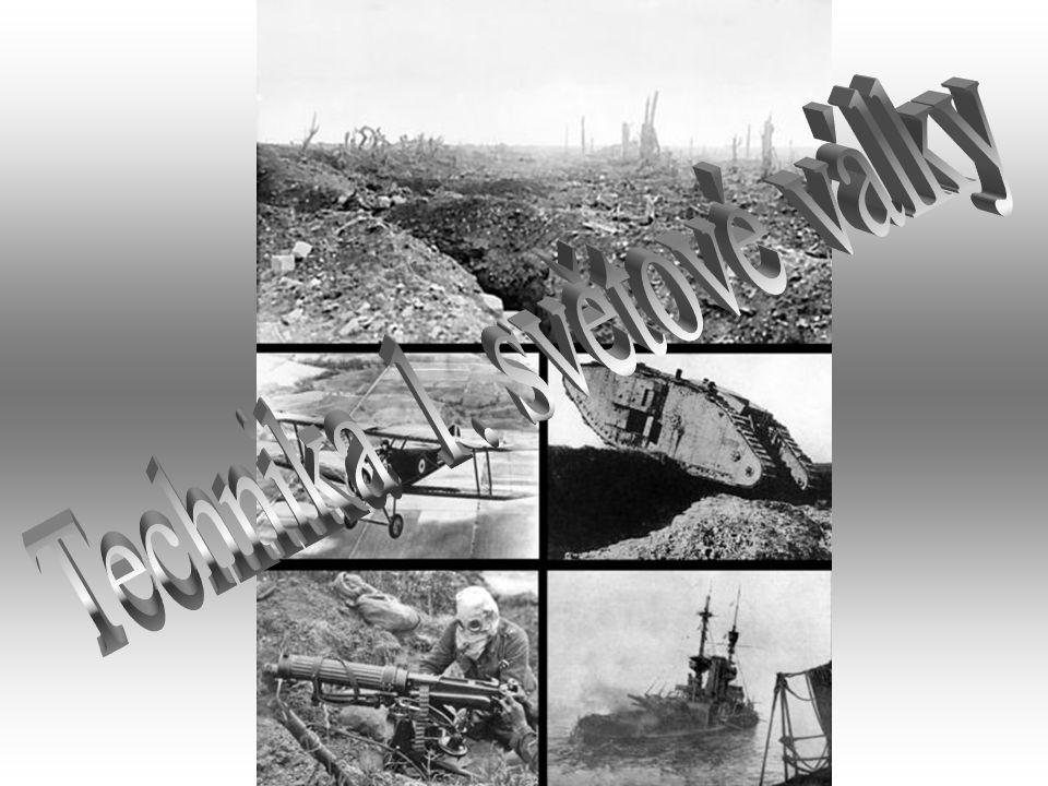 Technika 1. světové války