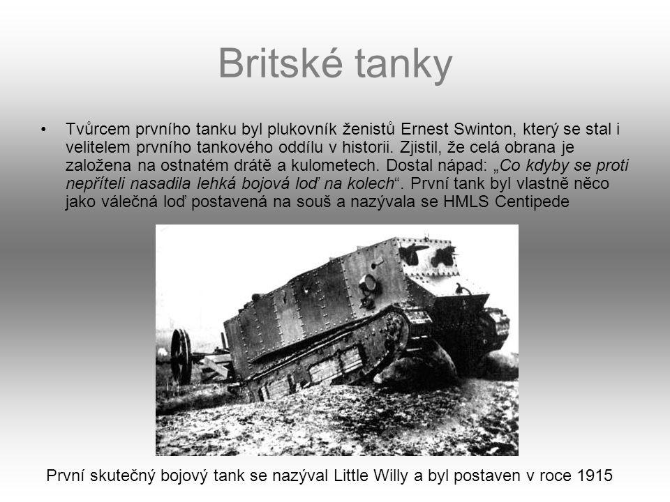 Britské tanky