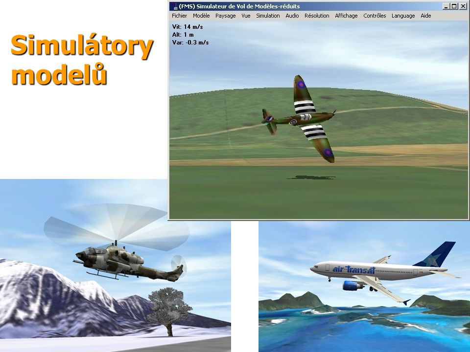 Simulátory modelů