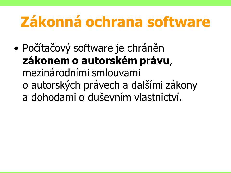 Zákonná ochrana software
