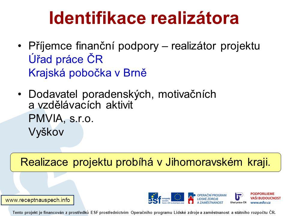 Identifikace realizátora
