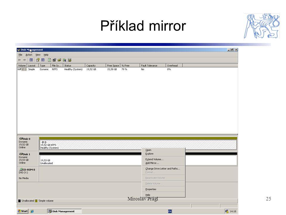 Příklad mirror Miroslav Prágl