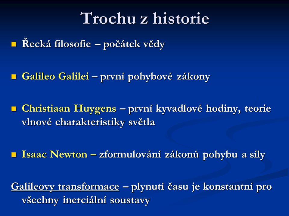 Trochu z historie Řecká filosofie – počátek vědy