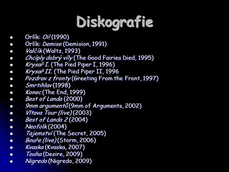 Diskografie Orlík: Oi! (1990) Orlík: Demise (Demision, 1991)