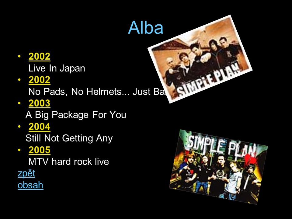 Alba 2002 Live In Japan No Pads, No Helmets... Just Balls 2003